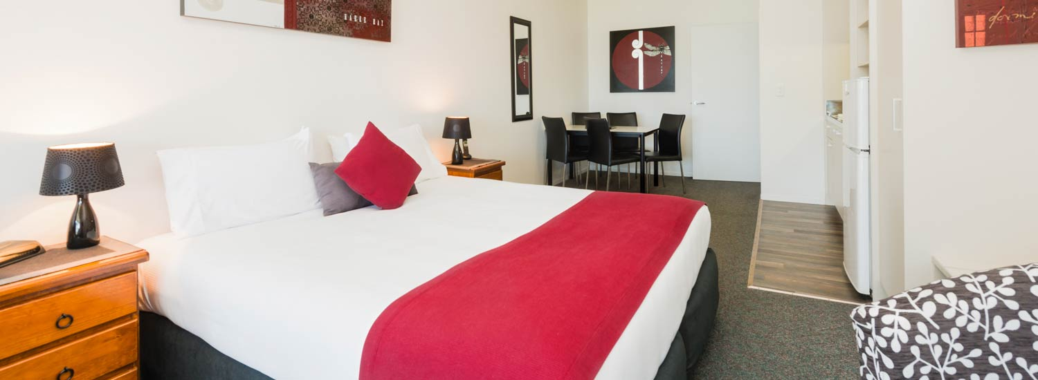 Comfortable well appointed rooms at Anchorage Motel Paihia